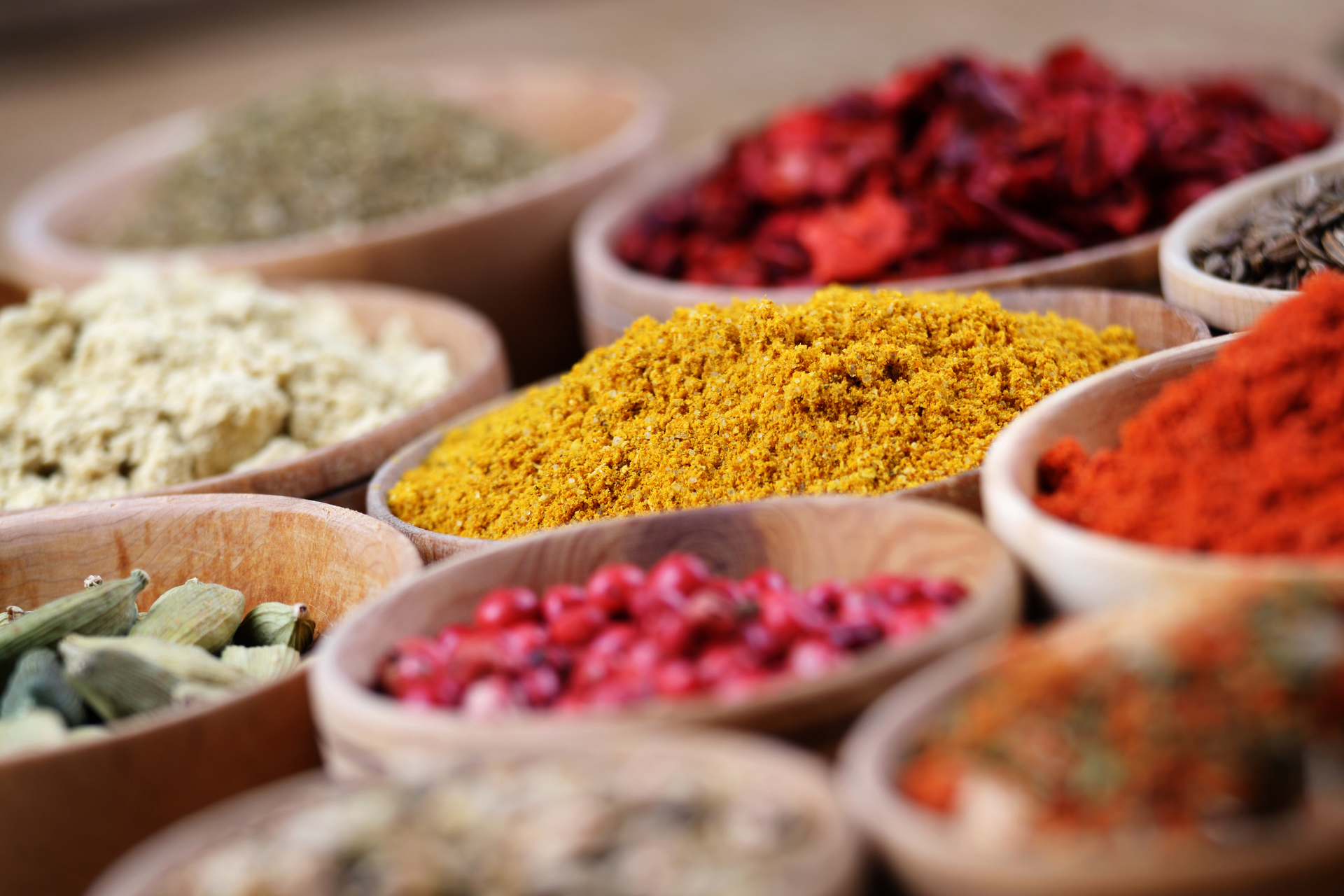 Spice Mixes : India, Israel & Lebanon - CHEFSUNITED